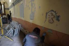 Obras restauración murales 2018